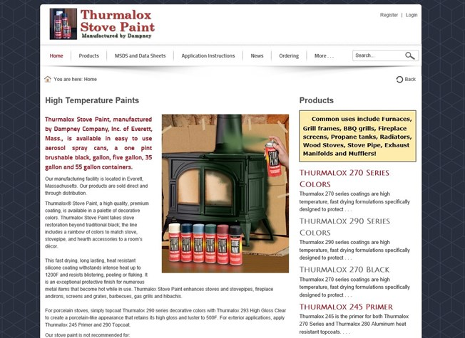 Stove Paint - Manufacturing - Everett, MA