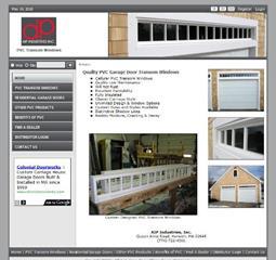 Pvc Garage Door Transom Windows Pvc Products Harwich Ma