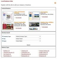 Click to view album: Business Directory